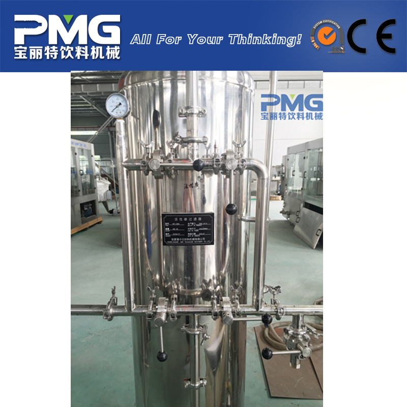 PMG-WT-2T drinking water treatment plant price for water production line / activated carbon filter
