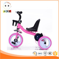 High quality baby tricycle kid tricycle child tricycle with flash wheels and music