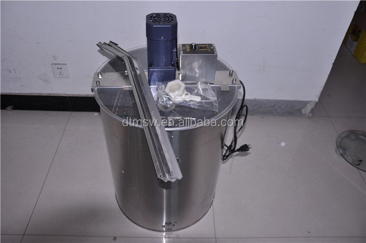 Manual/electric honey processing machine, 2/3/4/6/8/12/16/20/24 frames honey extractor used for making honey