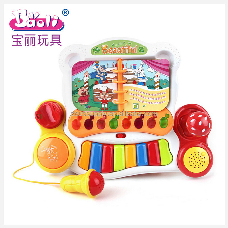 Educational Toy Baby Musical Electronic Organ Keyboard 3108