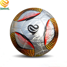 Laser PVC Leather Soccer Ball