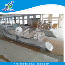 520cm Inflatable fiberglass rib sport fishing boat