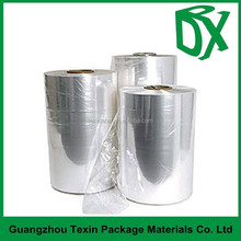 Transparent /white/blue PVC shrink film for outside packing