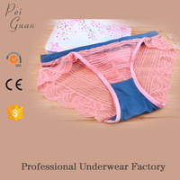 2017 newest fancy girls sexy lace underwear mesh panties sexy underwear women