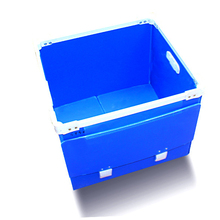 Pp Plastic Collection Storage Coroplast Folding Polypropylene Box