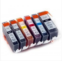 For canon ink cartridge chip reset pgi525 cli526 printer ink cartridge for canon pixma mg6150 reset