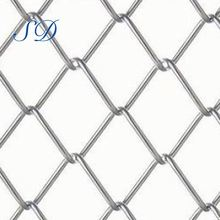 4 Inch Tall Black Vinyl Chain Link Fence For Playground
