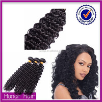 Beauty & personal care dip dye wet and wavy virgin indian kinky curly remy hair weave