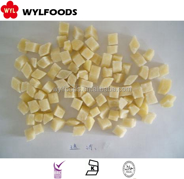 High Quality IQF Frozen Potato Diced Cube