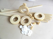 Custom Sizes Cnc Machining Straight Plastic Gear Rack For Robot