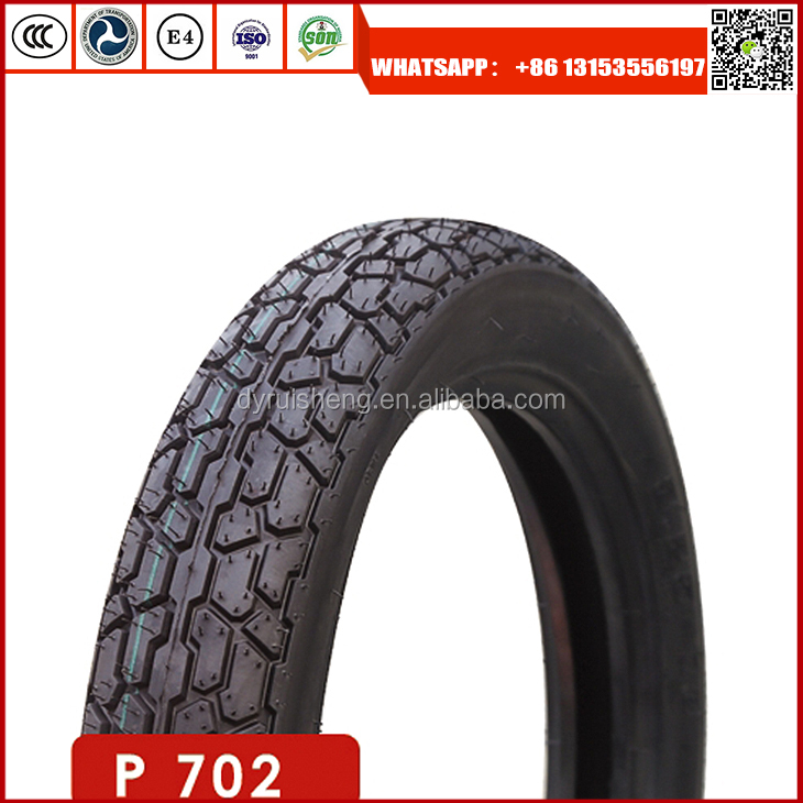 High quality motorcycle tyre 325-16 with high natural rubber rate