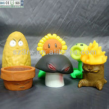 Plants Vs Zombies squishy Figurines, Small squishy Figurines,Custom soft Figurines