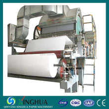 Economic price of toilet tissue paper roll making machinery from rice straw recycling