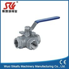 New fashion 3 way pvc ball valve with great price