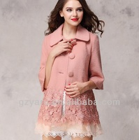 2014 latest 100% cashmere winter designer cheap spring plus size turkish women coats wholesale/wholesale coat