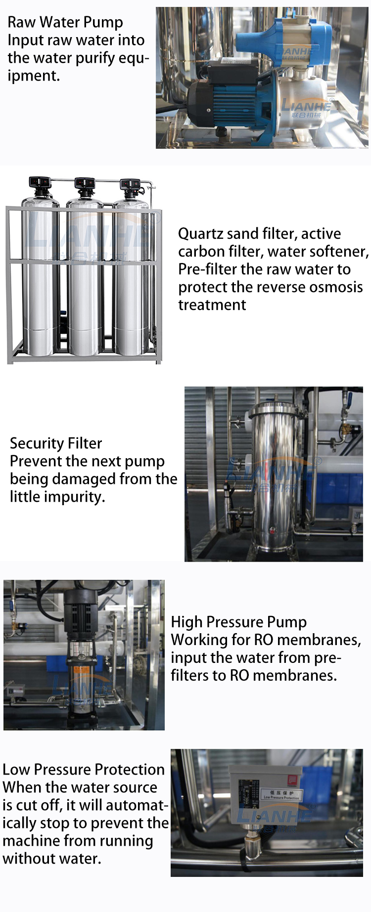 Desalting RO System Water Purifier Treatment For Drinking Perfume Cosmetic Pharmaceutical Water Purification Machines View Drinking Water