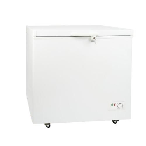Deep top-open door deep freezer with brand compressor freezer locks BD-208