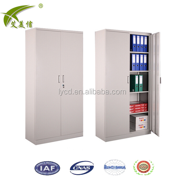 Locking wooden file cabinets wood storage cabinet with casters