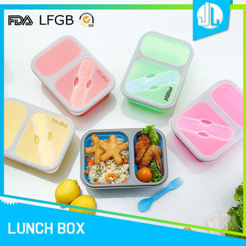 Wholesale school portable eco friendly lunch box