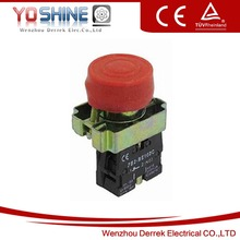 XB2-BP42 NC Red Sign Momentary Push Button Switch 22mm with Waterproof Cover