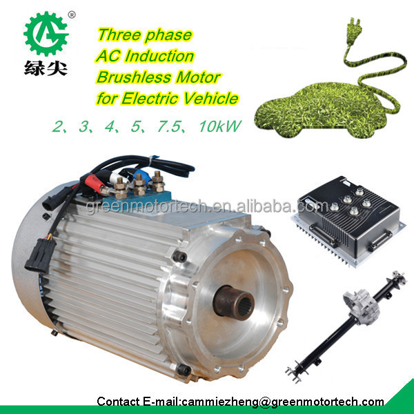 80km H Speed Electric Car Motor Kit With Regenerative Braking Controller Buy Brushless Dc
