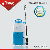 Kaifeng supply high quality battery electric (1l-20l) liter manual knapsack power sprayer