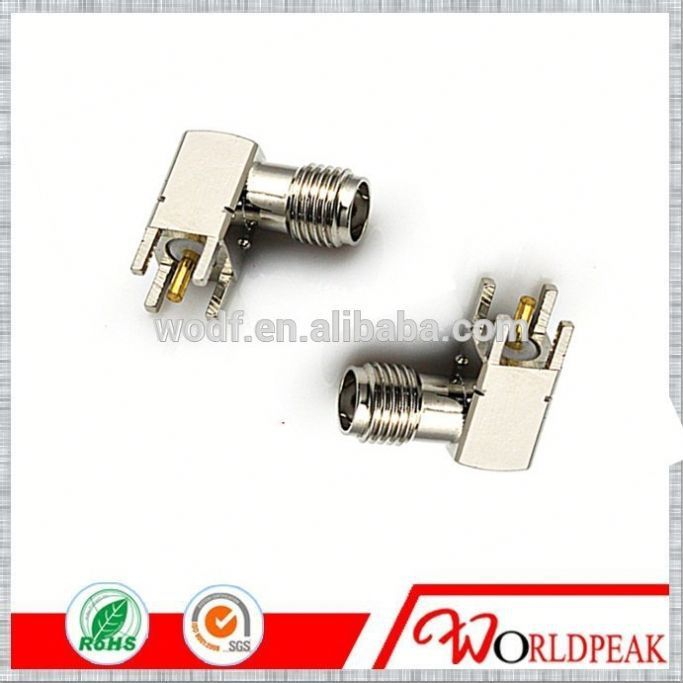 sma type connector Female Jack Crimp different types of electronic components