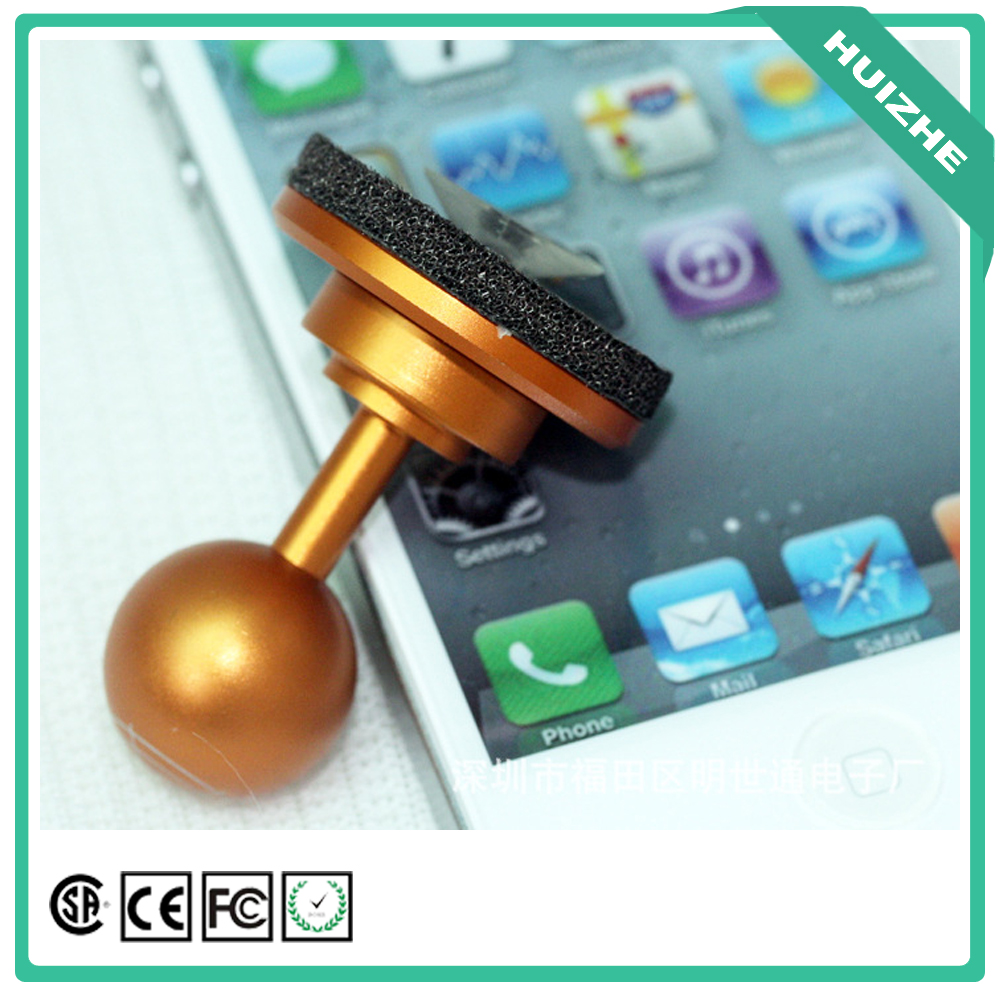 Screen touch mobile game fling mini joystick supported for any system phone and pc