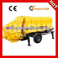 Used Widely HBT60S-9-75 Trailer Concrete Pump