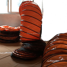 pvc spiral fire retardant flexible duct hose