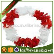 Poland hawaii lei wreaths hawaii garland flower chain set for EURO 2016