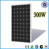 2015 Top 300w 12v 24v solar panel with CE UL TUV