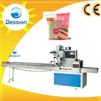 Automatic Cooked Food Packing Machine Sandwich Packaging Machine