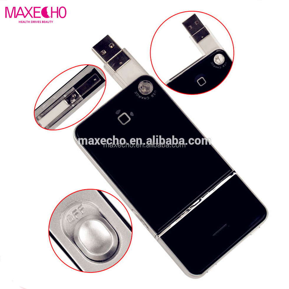 MAXECHO Portable Mini Electronic Rechargeable Shaver, USB Charging Reciprocating Single Blade Electric Shaver , Razor On Car