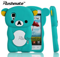 Green Bear Design Cell Phone Accessories For LG E455 Optimus L5 II Silicone Case Cover