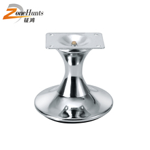 Alibaba New Products Bargain Sale Furniture Leg Chrome Square Metal Table Legs