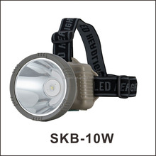 5w LED Rechargeable Mining Headlamp Spotlight Emergency LED Light With High Power