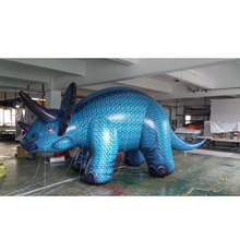 helium inflatable Triceratops dragon animal balloon for sale