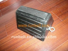 Rubber Wheel Chocks for Truck Tire