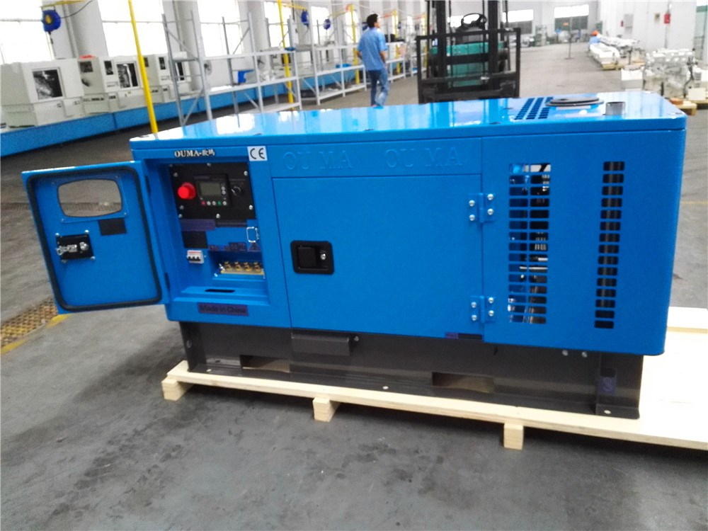 10kva Super Silent Water Cooled Kubota Diesel Generator Direct From Factory