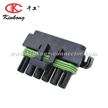 Delphi 6 pin original female black electrical automotive connector