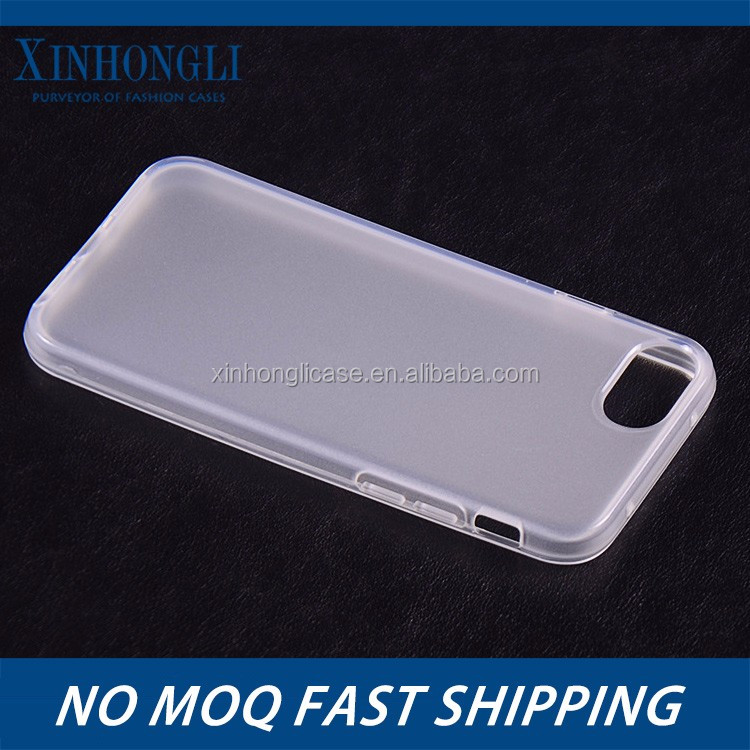 For iphone 7 silicon case within the mill outside the smooth surface water sets