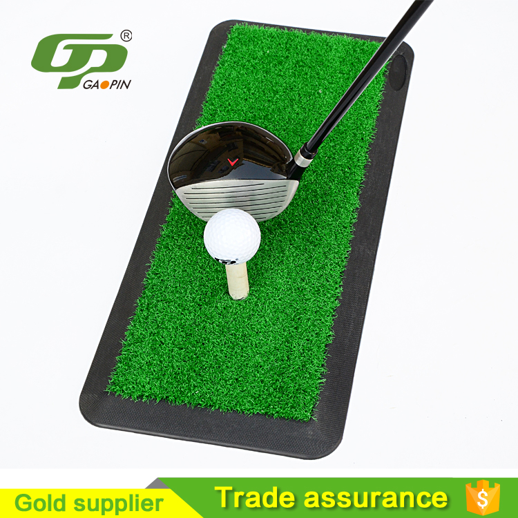 New product high quality synthetic grass golf swing trainer for sale