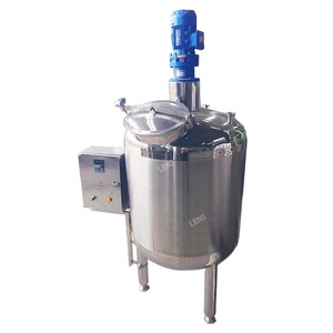 SS304 SS316L stainless steel syrup mixing tank