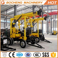Small portable borehole drilling machines/Small geotechnical portable water well drilling equipment