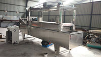 Automatic Stainless Steel oil curtain fryer -- Jinan DaYi Extrusion Machinery