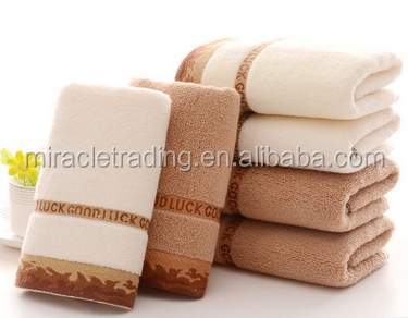 Gifts welfare leopard print logo towel cotton thickening 100g towel