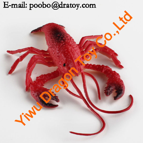 cartoon lobster toys,plastic toys lobsters