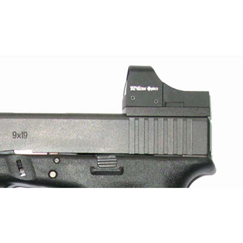 for Glock Pistol in Full Metal With Screw and Plate Specific Mini Red dot sight Mount Base for Glock