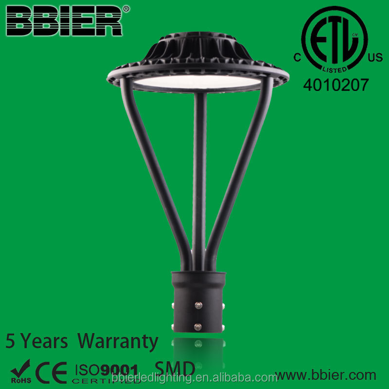 die-casting 100W outdoor powder coating led bollard light